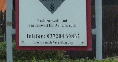 Rechtsanwalt Jens Steinert in Lichtenstein in Sachsen