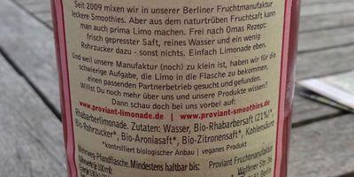 Proviant Fruchtmanufaktur GmbH & Co. KG in Berlin
