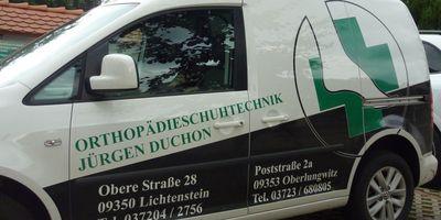 Duchon Jürgen Orthopädie-Schuhtechnik in Lichtenstein in Sachsen