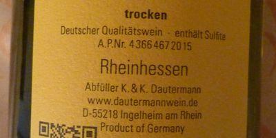 Weingut K. & K. Dautermann in Ingelheim am Rhein