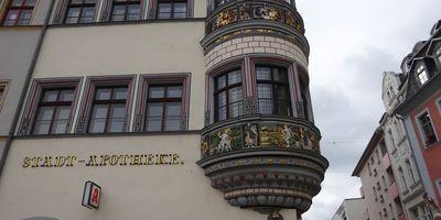 Stadt-Apotheke Gera Apotheker Buchsbaum N. in Gera