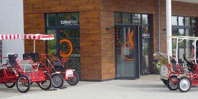 TOBIS Pelzerhaken Fahrradgeschäft in Pelzerhaken Gemeinde Neustadt in Holstein