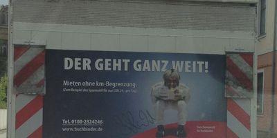 Buchbinder Autovermietung in Hanau