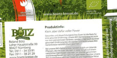 Gemüsebau Roland Bötz in Nürnberg
