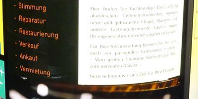 PIANOHAUS BAYER - Meisterwerkstatt für Tasteninstrumente in Crimmitschau