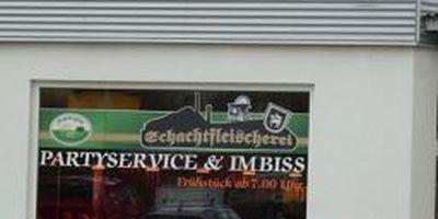 Schachtfleischerei - Neuwürschnitzer Fleisch- und Wurstwaren AG am ALDI-Markt in Oelsnitz im Erzgebirge