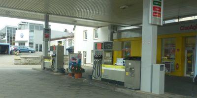 Agip Service-Station in Lichtenstein in Sachsen