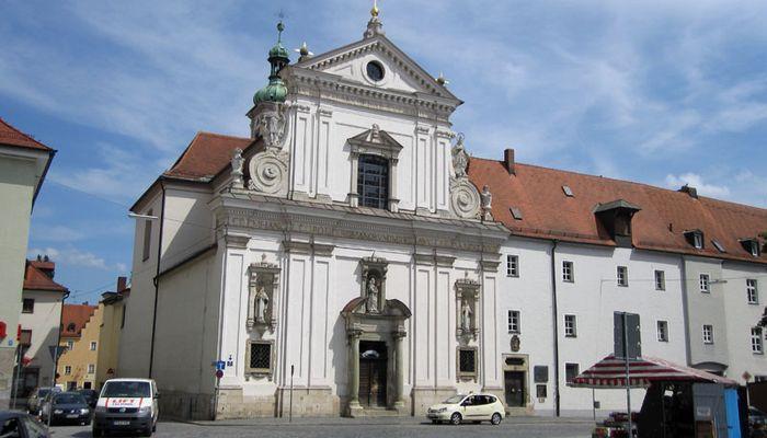 bilder und fotos zu karmelitenkloster in regensburg alter kornmarkt. Black Bedroom Furniture Sets. Home Design Ideas