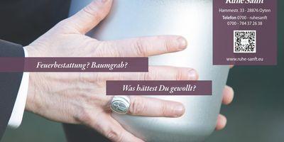 Ruhe Sanft Inh. Burkhard Huber in Oyten