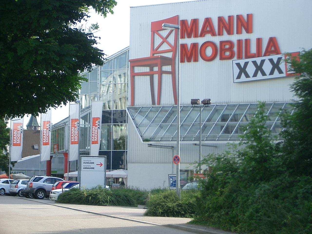 Xxxl Mann Mobilia Ludwigsburg Möbelhandel 71634 Ludwigsburg