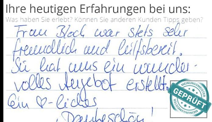 Ein Kunde vor Ort hat Grimm Küchen Karlsruhe 4.3333335 Sterne gegeben.