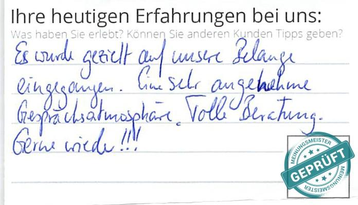 Bewertungen zu Grimm Küchen Karlsruhe in Karlsruhe