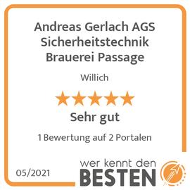Andreas Gerlach AGS Sicherheitstechnik Brauerei Passage in Willich