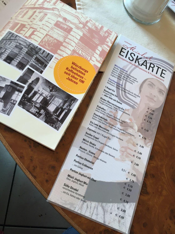 Cafe michel würzburg karte